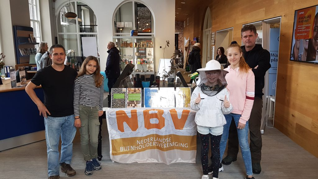 Bijenvereniging steunt project 'Duurzaam Kampen'